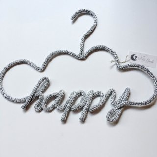 Petit-etoile  hanger happy( Silver )