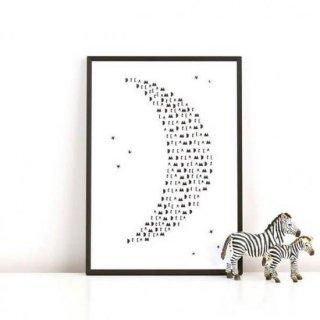 Ingrid Petrie Design  posterA4 size(dream moon)