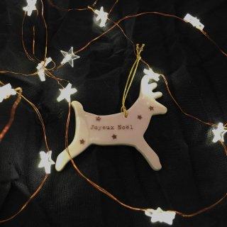 Le petit atelier de paris   Renne du pere Noel Ornament