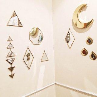Les petite bohemes triangle mirror S (14×14)